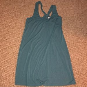 Old Navy twist back knit dress size L Tall
